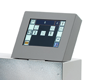 対話式タッチスクリーンの採用